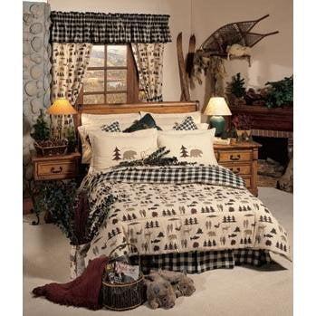 Northern Exposure Comforter Set Size: King (Bed Set Northern Exposure Cabin)