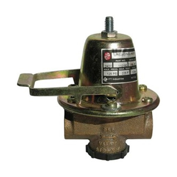 Pressure Reducing Valve, Brass, 1/2NPT