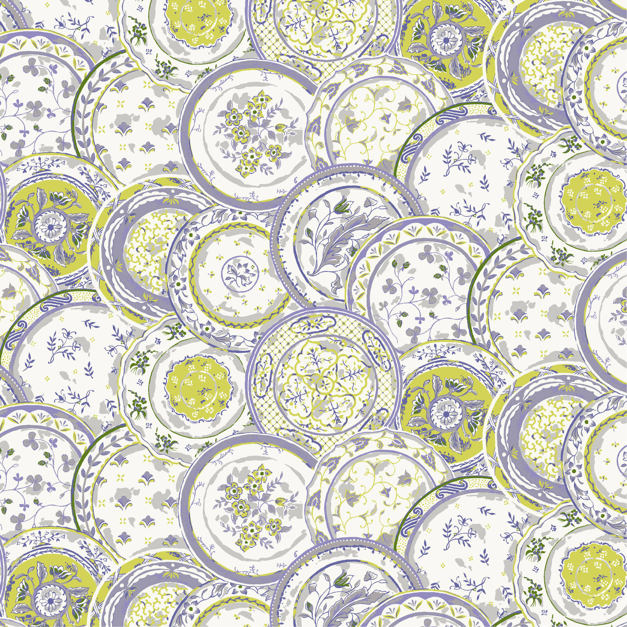 Waverly Inspirations 100% Cotton Print fabric, Quilting fabric, Home Decor ,44'', 140GSM
