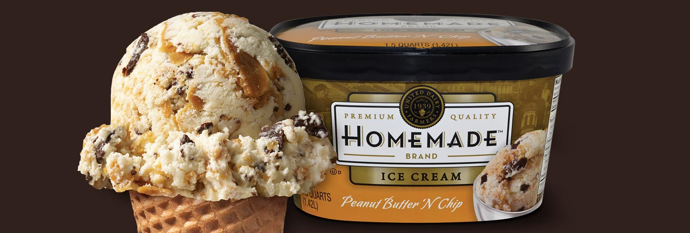 Peanut Butter 'N' Chip Ice Cream, 48 oz