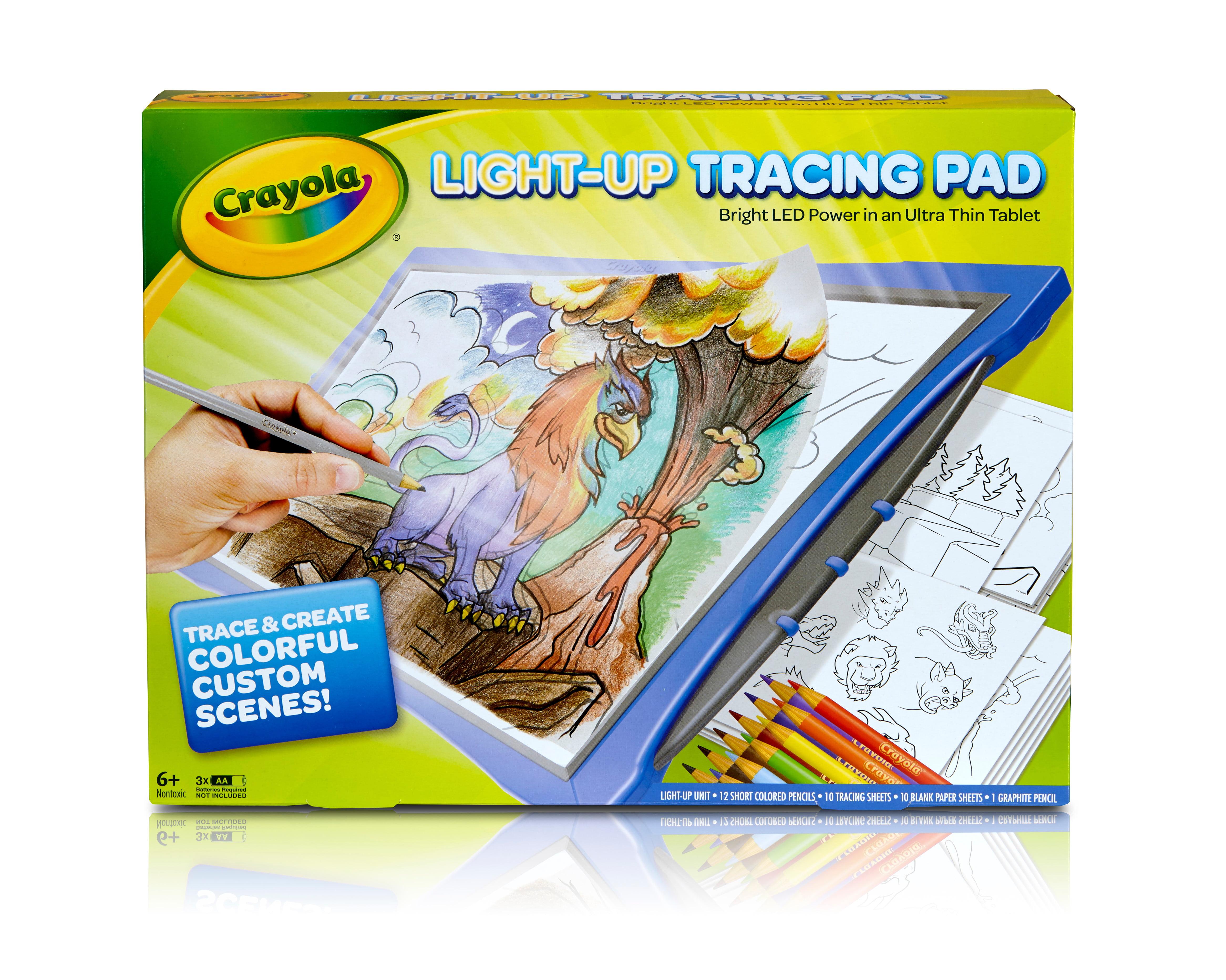 Crayola Light Up Blue Tracing Pad Walmart Com Walmart Com