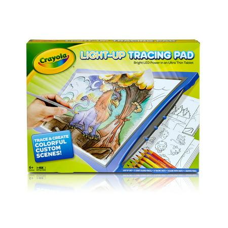 Crayola Light-Up Blue Tracing Pad