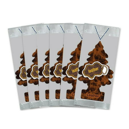 Little Trees Car (Little Trees Car Air Freshener 6-Pack (Leather) )