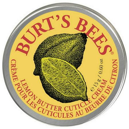 2 Pack - Burt's Bees Lemon Butter Cuticle Creme 0.60 oz Lemon Butter Cuticle Cream