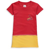 St. Louis Cardinals Refried Apparel Girls Toddler T-Shirt Dress - Red