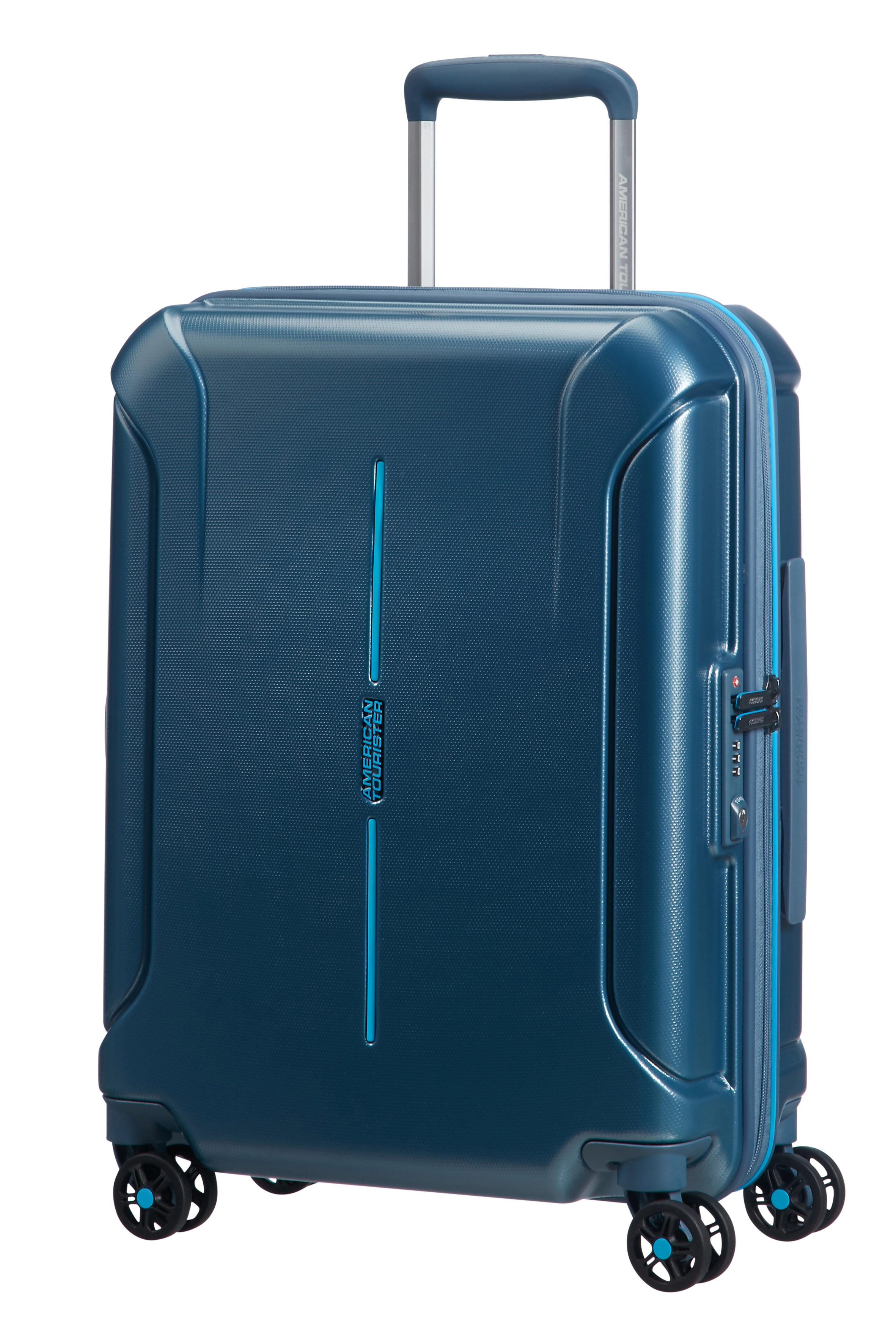 American Tourister Technum Hardside Carry On Spinner Luggage
