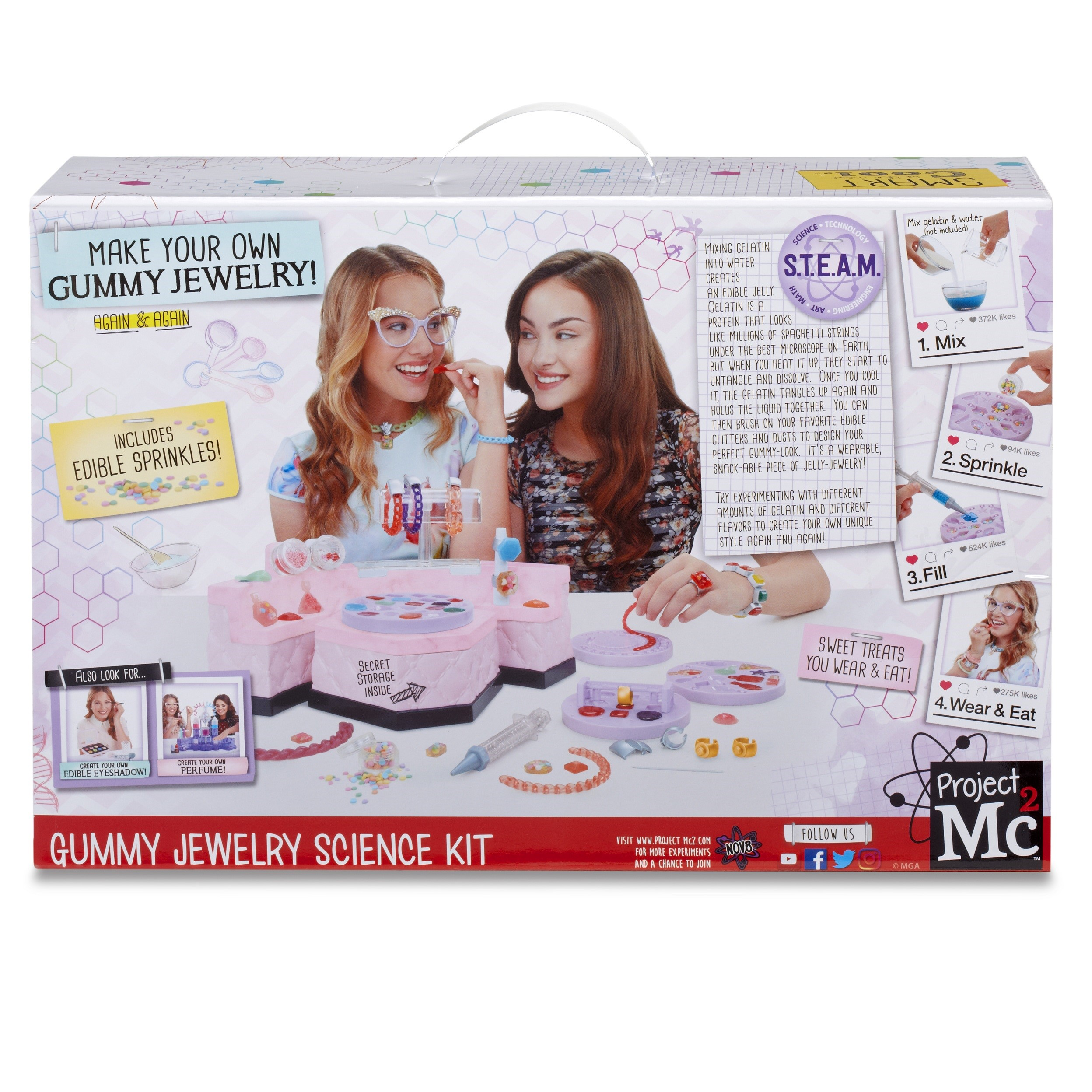 Project Mc2 Gummy Jewelry Science Kit by Project Mc2