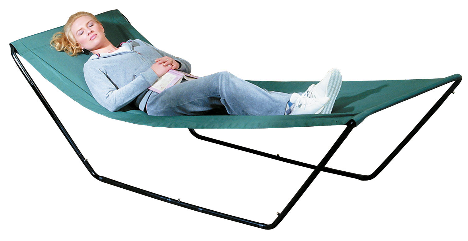 Miles Kimball Portable Hammock With Stand and Carrying Bag by Fox Valley Traders