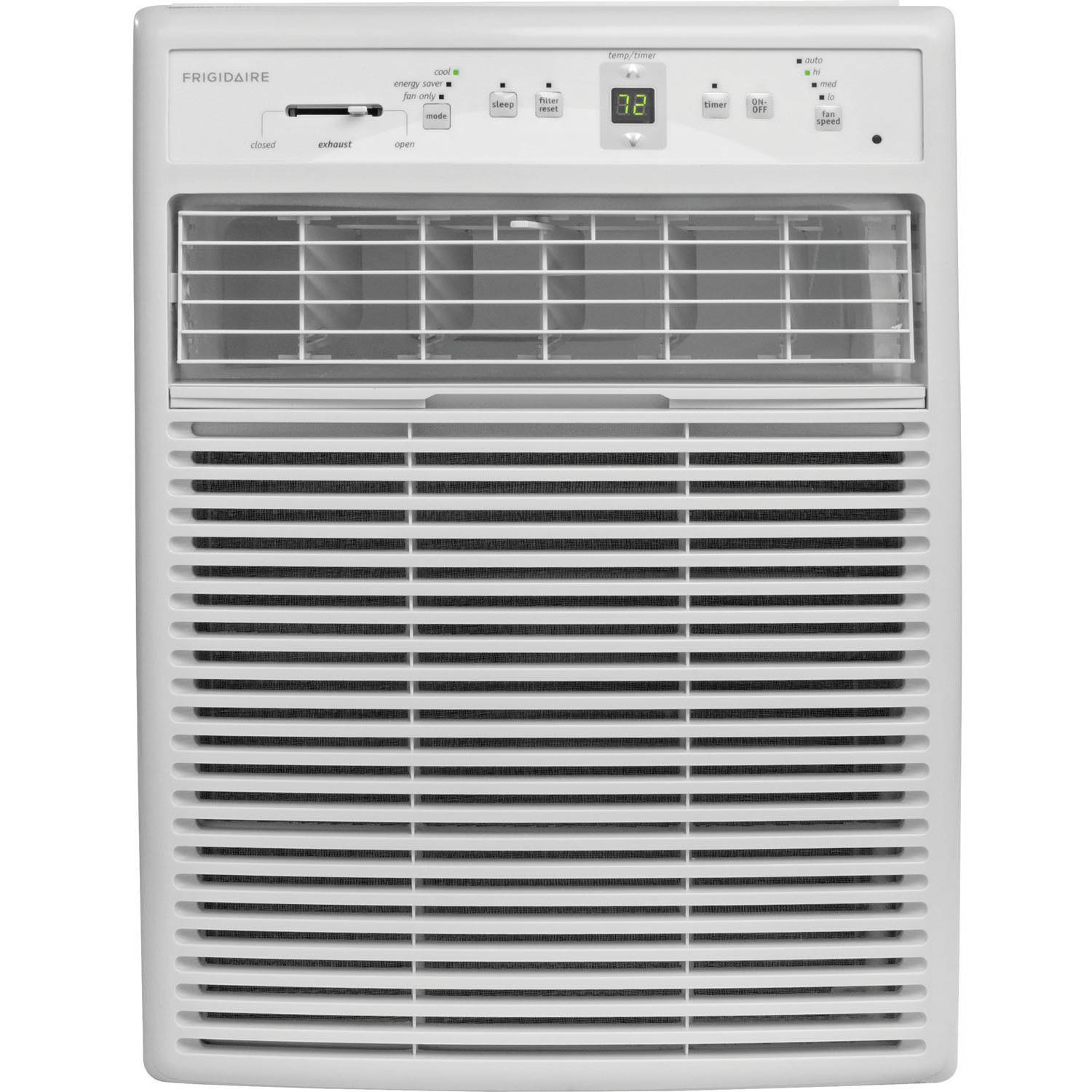 Frigidaire FFRS0822S1 8,000 BTU 115V Slider/Casement Room Air Conditioner with Full-Function Remote Control