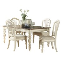 Hillsdale Furniture Pine Island 5-Piece Dining Set, with Wheat Back Chairs