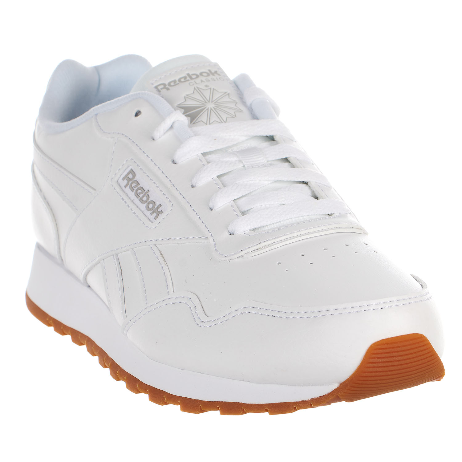 d5423d4d87bf5 reebok classic harman men's running shoes white/gum cm9203