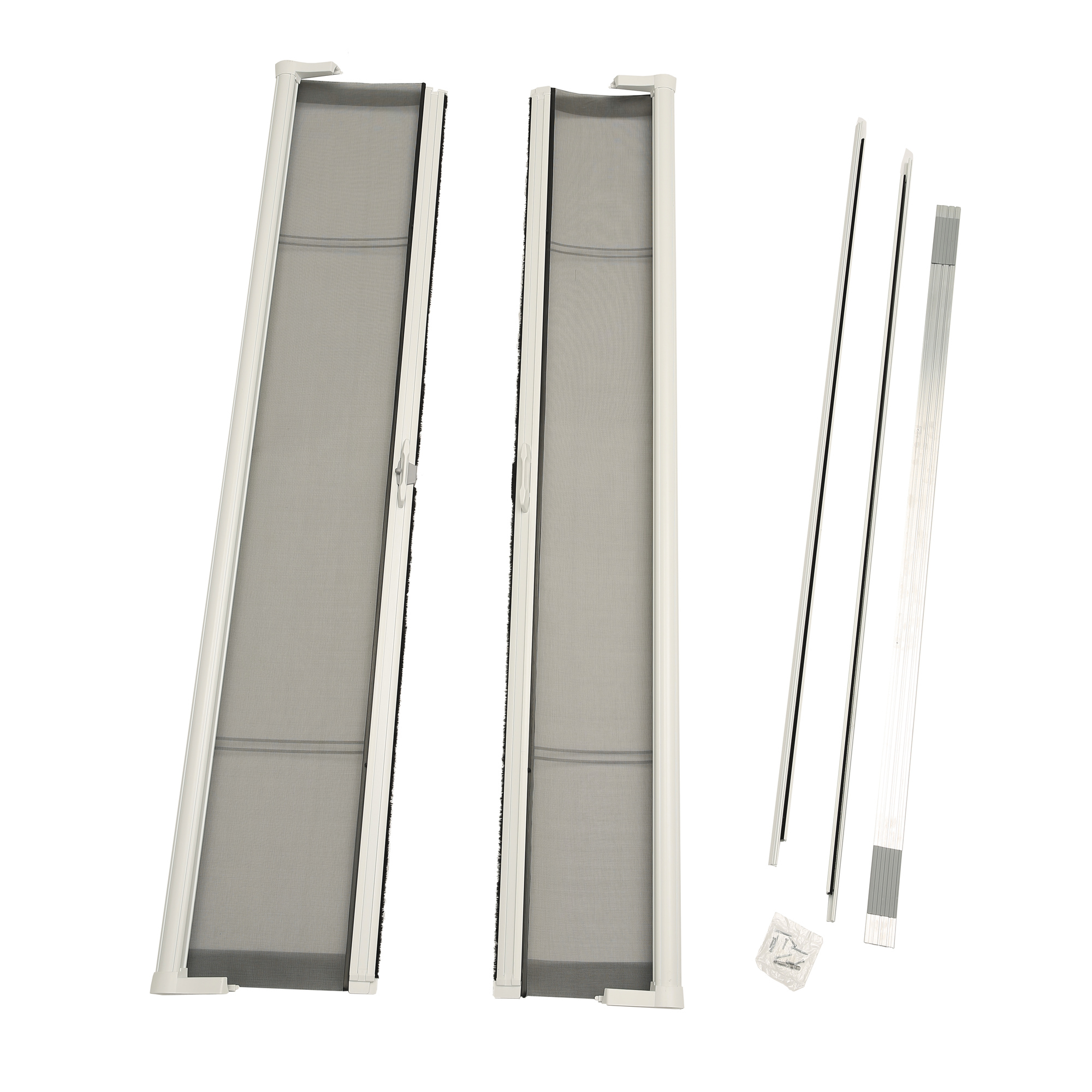 ODL Brisa White Standard Double Door Single Pack Retractable Screen for 80  Inswing/Outswing  sc 1 st  Walmart & ODL Brisa White Standard Double Door Single Pack Retractable Screen ...