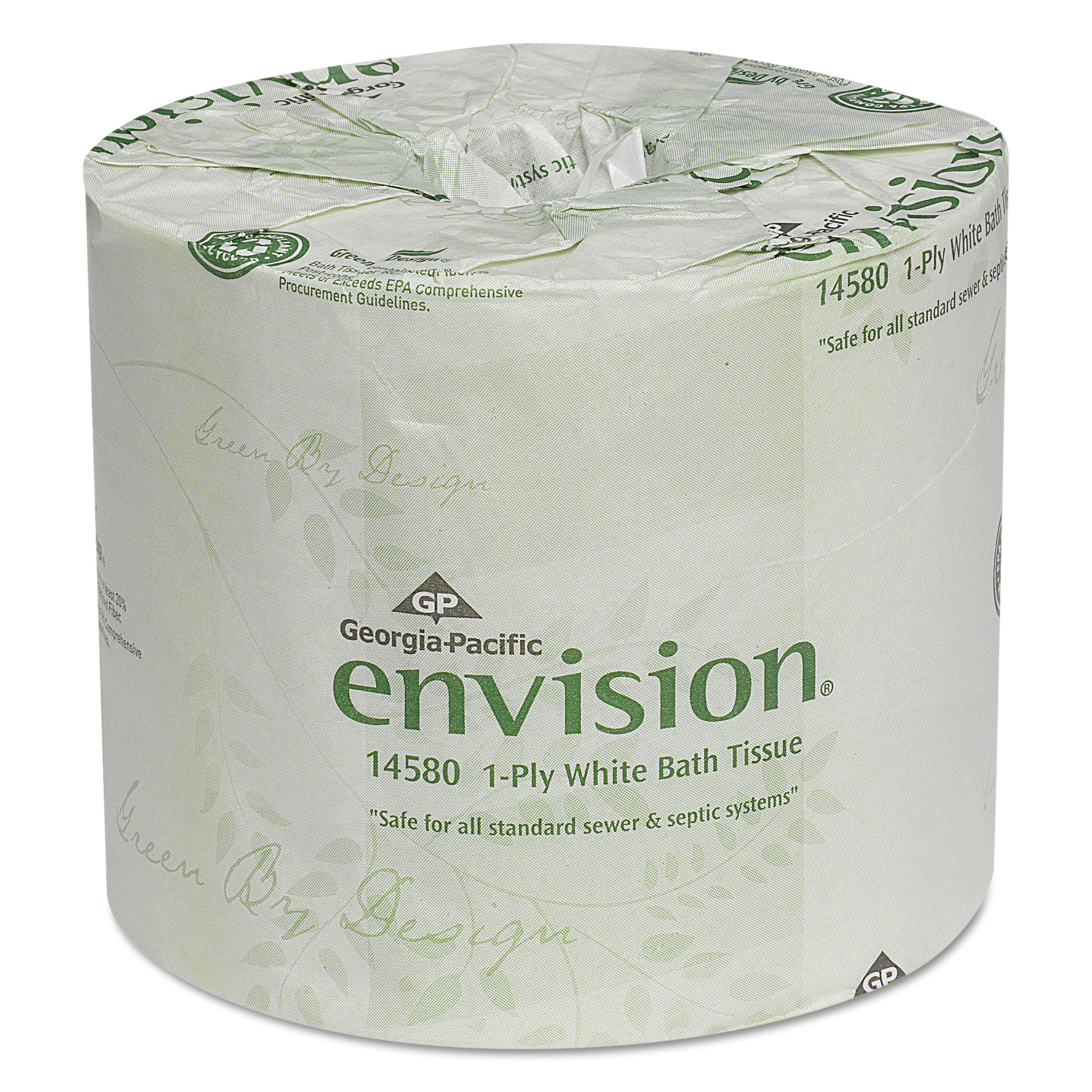 Georgia Pacific Envision One-Ply Bathroom Tissue, 1210 Ft, 80 ct