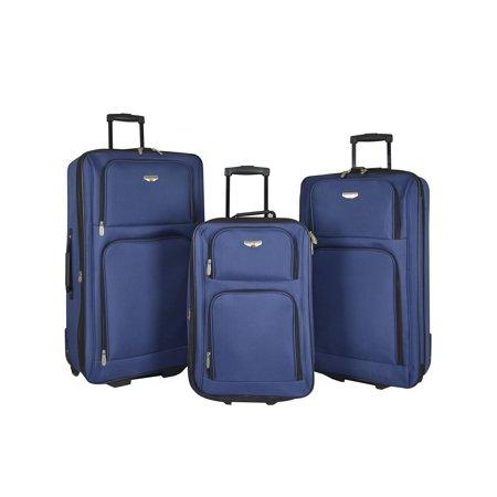 Travelers Club 3 pc. nested value set. Navy Blue