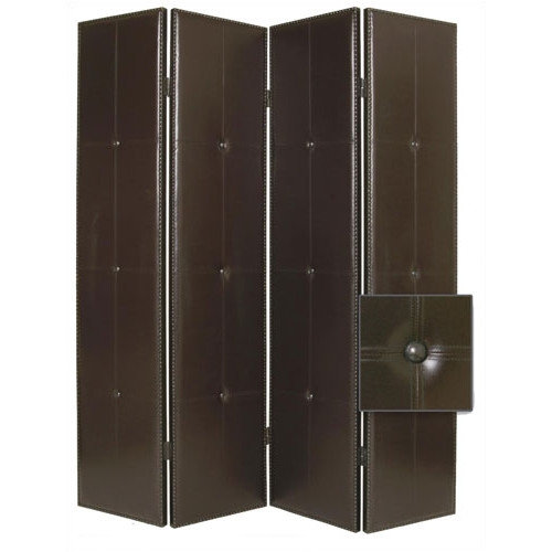 Screen Gems 84'' x 76'' Regent Double Sided 4 Panel Room Divider