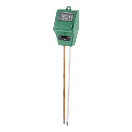 Unique Bargains 3 In 1 Ph Moisture Light Sensor Soil Tester Meter For Flowers Plants