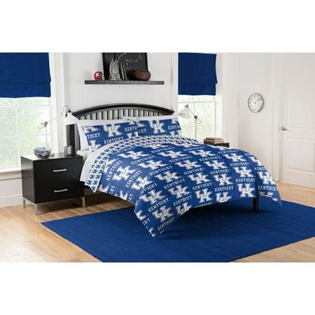 Wildcats Ncaa Bedding - NCAA Kentucky Wildcats Bed in a Bag Bedding Set