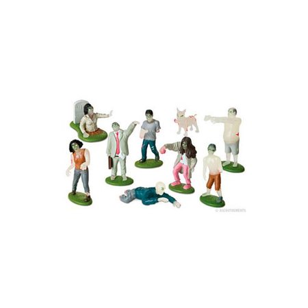 Flesh Eating Zombies Play Set by Accoutrements - 11739