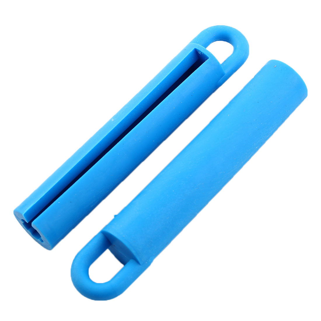 Rubber Billiard Cue Stick Hanger Rod Straightening Wall Mount Holder Blue 3 Pcs - image 1 of 4
