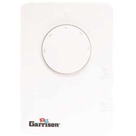 Garrison Dial Thermostat 2 Stage Heat Cool Non Programmable