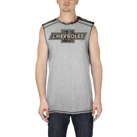 Chevrolet Realtree Camo Mens Muscle Tank Top