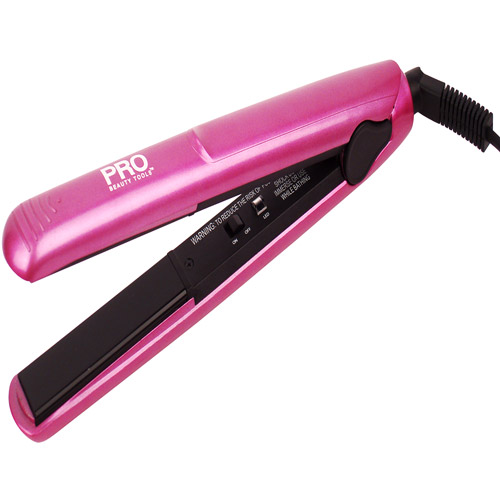 Pro Beauty 1' Pink Straightener