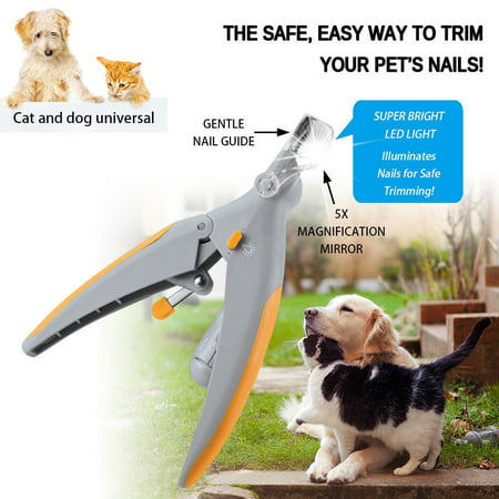 Guillotine Dog Nail Clipper - 1pc Pet Nail Trimmer Peti Care Dog Nail Clippers Grinders for Cat Dog PetiCare