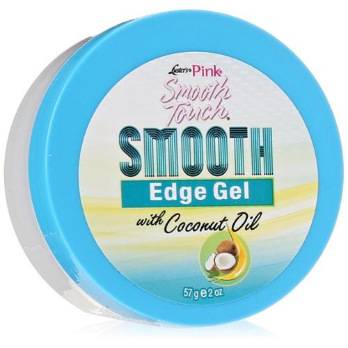Luster's Pink Smooth Touch Smooth Edge Gel with Coconut Oil 2 oz (Pack of 4)
