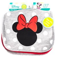 Minnie Mouse 3 Pk Heather Toddler Bib