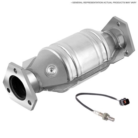 Direct-Fit Catalytic Converter w/ O2 Sensor For Acura MDX 2007 2008 2009
