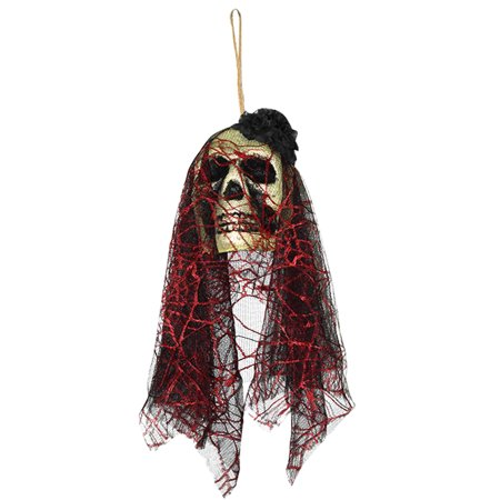 Halloween Decorations Ornaments (Halloween Scary Skull Hanging Ornaments Ghost Skeleton Prop Wall Decorations (K-04)