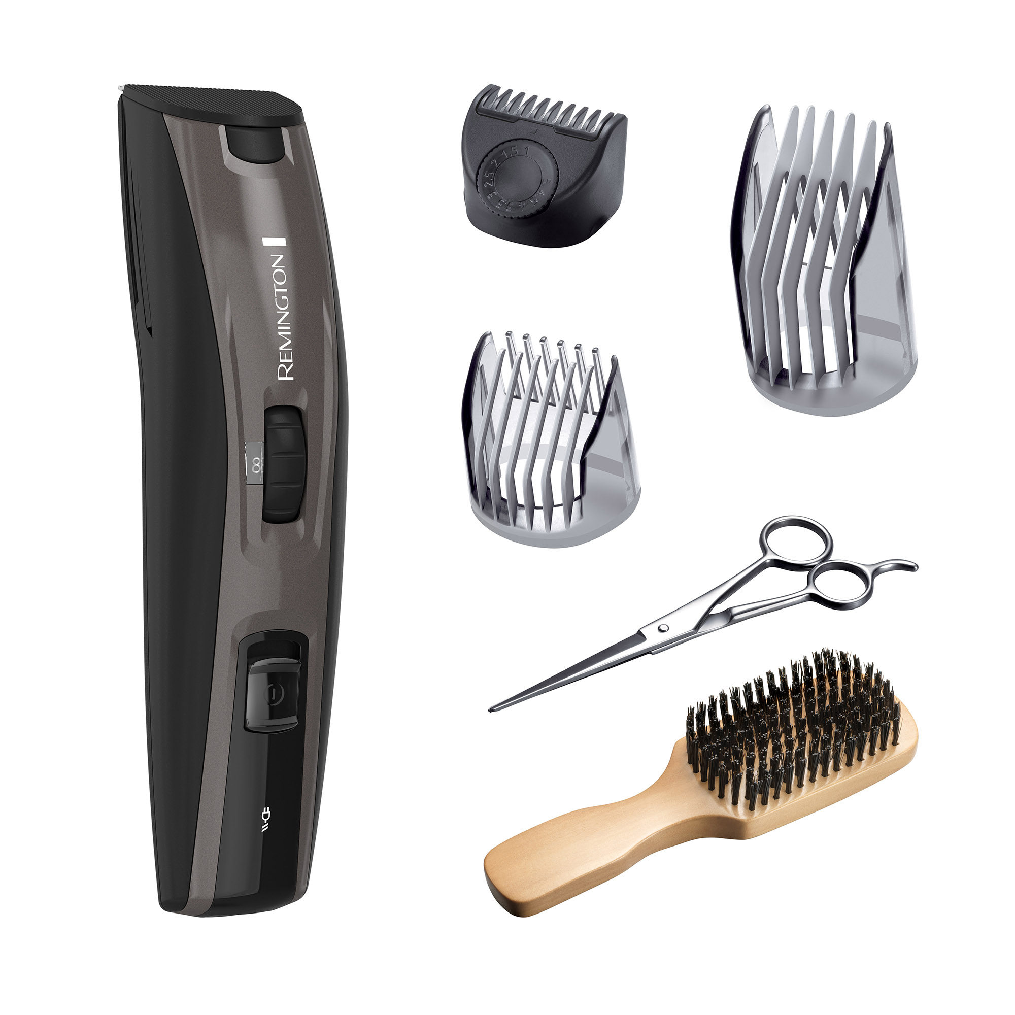 Remington Beard Boss Full Beard Grooming Kit, Grey, MB4045B