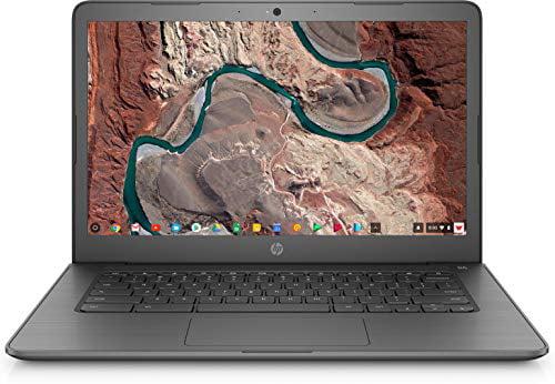 "HP 14"" Chromebook Laptop with Chrome OS - Intel Processor - 4GB RAM Memory - 32GB Flash Storage - Chalkboard Gray (14-ca023nr)"