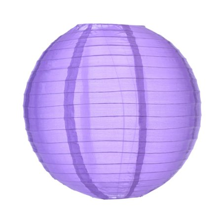 Asian Import Store Distribution 14 in. Purple Nylon - Sky Lanterns In Store