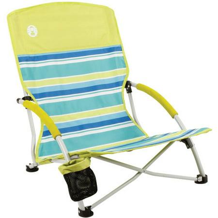 Coleman Beach Deluxe Low Sling Chair Walmart Com