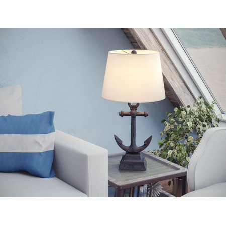 Kenroy Home Aweigh Table Lamp, Weathered