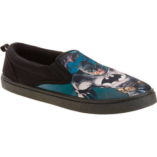Batman Men's Canvas Slip On Shoe by