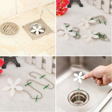 Polished Drain Sink Cleaner Bathroom Unclog Sink Tub Snake Hair Removal Tool (Tube Sink)