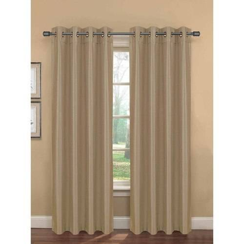 "Click here to buy Becca Faux Silk Room Darkening Extra-Wide 54"" x 84"" Grommet Curtain Panel by YMF Carpets Inc.."