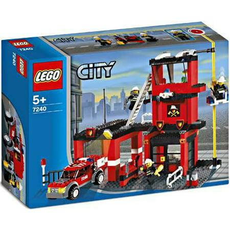 LEGO City Fire Station Set #7240