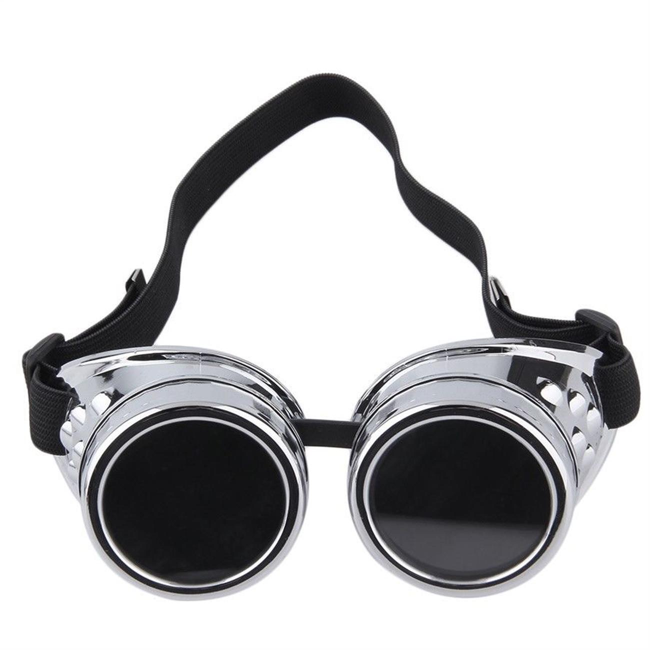 <font color='#FF0000'>C.F.GOGGLE Motorcycle Glasses Goggles Aviator Biker Vintage Outdoor</font>