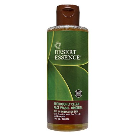 Desert Essence Desert Essence  Face Wash, 4 oz (Desert Essences Face Wash)