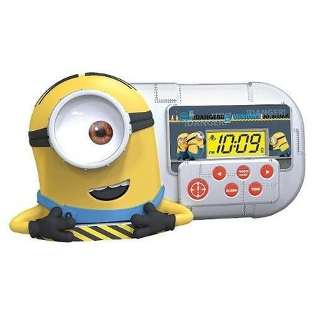 Despicable Me Minion Alarm Clock/Sleep Timer with Night ...