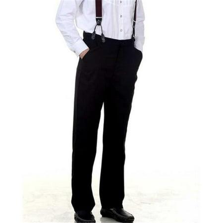 The Pirate Dressing C1331 Classic Victorian Mens Trouser, Black - Small - image 1 de 1