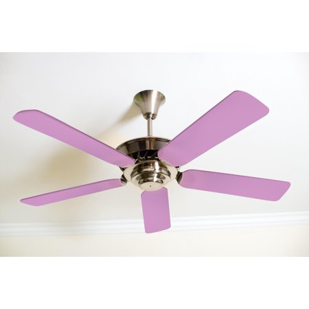 Solid Orchid Purple Fancy Blade Ceiling Fan Blade Covers Home Decor & Baby Décor