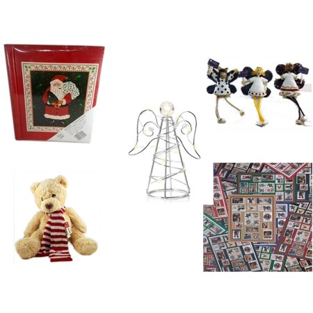 Christmas Fun Gift Bundle [5 Piece] - Lego Merry  20 Page Photo Album - Angel Princess