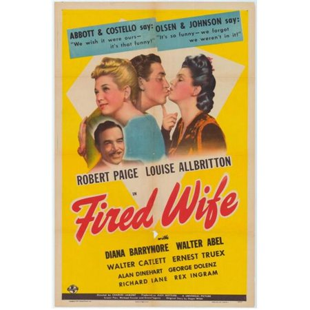 Posterazzi MOVEH1029 Fired Wife Movie Poster - 27 x 40 in. - image 1 de 1