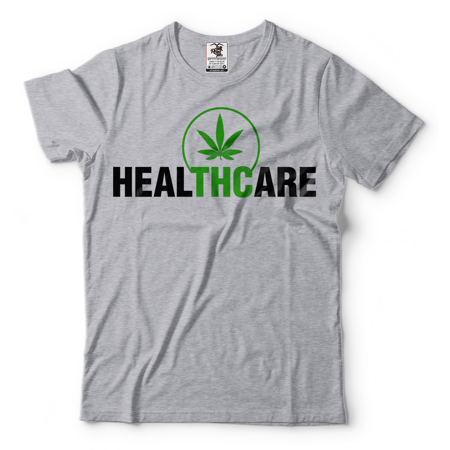 Thc T Shirt Weed Cannabis Medical Marijuana Tee Shirt