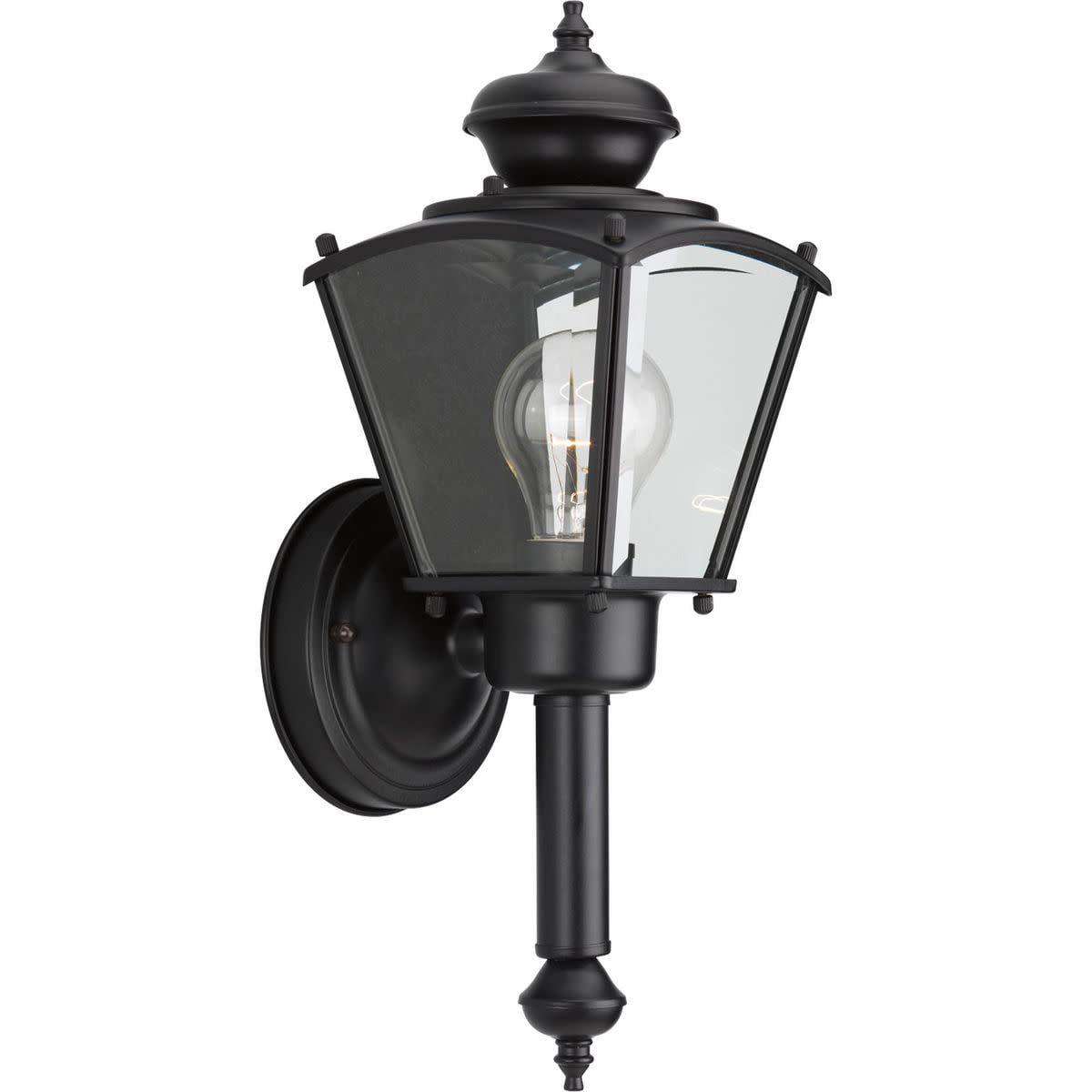 BrassGUARD Collection One-Light Wall Lantern