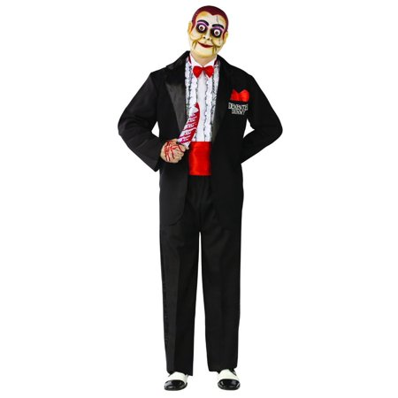 Ventriloquist Demented Dummy Costume Adult